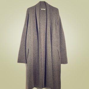 Madewell merino wool sweater coat